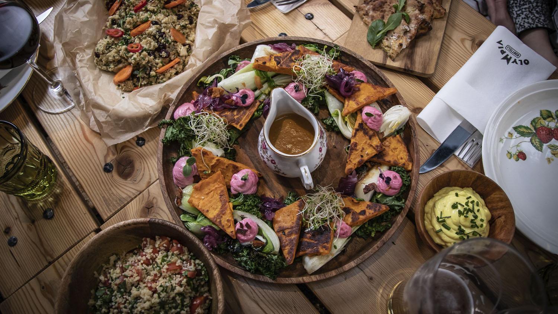 Tuotekuva Ravintola Muusan Social Dining -ruokakattauksesta