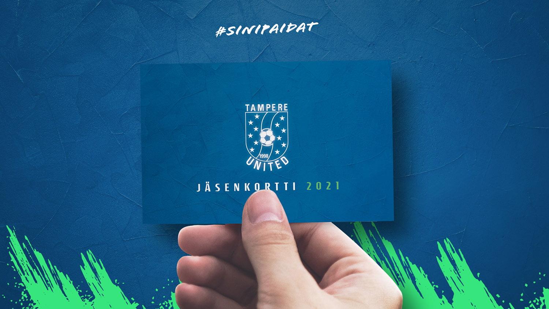 Tampere Unitedin jäsenkortti